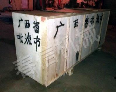 广西北流钢管调直机