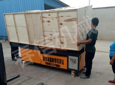 贵州省贵阳钢管调直除锈刷漆机